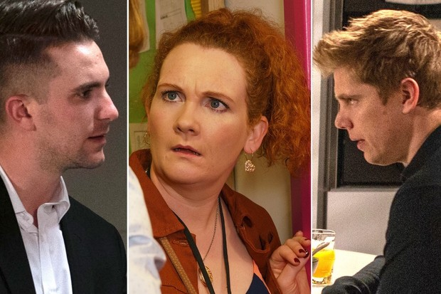 Callum on EastEnders, Fiz on Coronation Street, Robert on Emmerdale