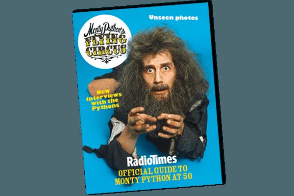 Monty Python Bookazine Cover