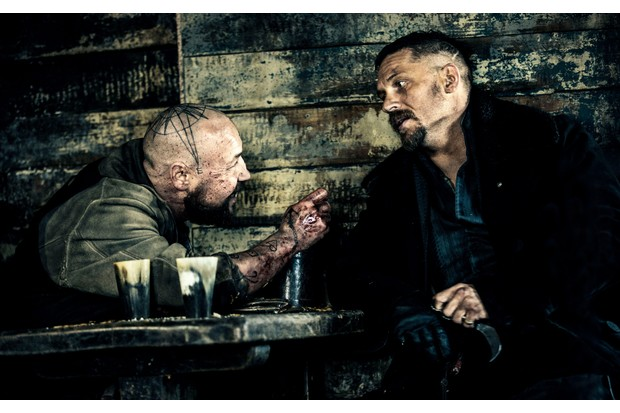 Stephen Graham and Tom Hardy in Taboo
