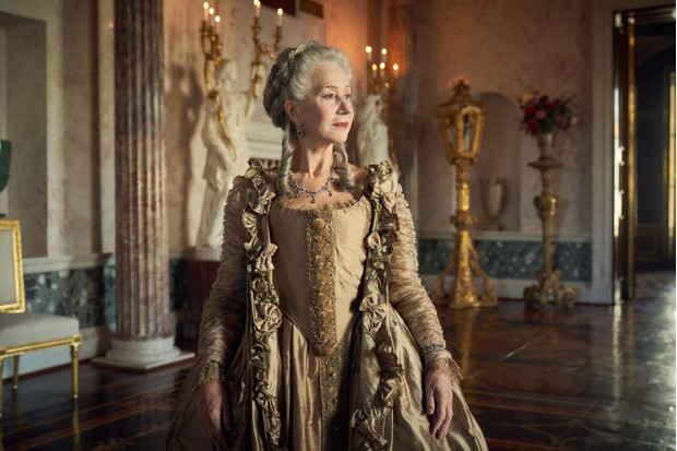 Helen Mirren plays Catherine the Great