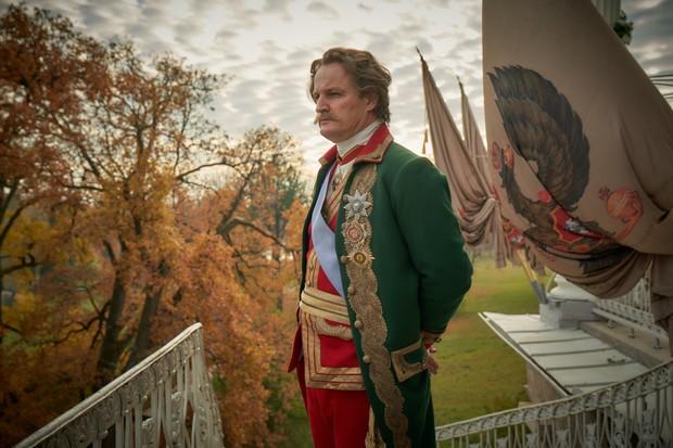 Jason Clarke plays Grigory Potemkin