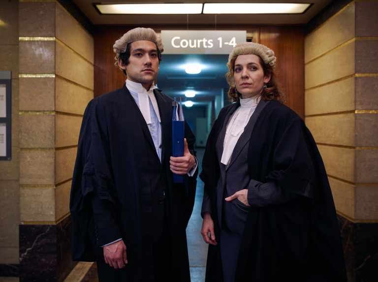 When is Defending the Guilty on BBC2?