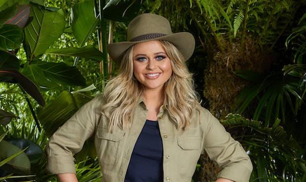 Emily Atack I'm a Celeb 2018 (ITV)