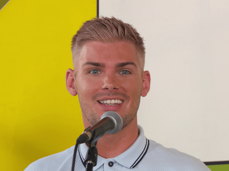 When does Ste Hay leave Hollyoaks?