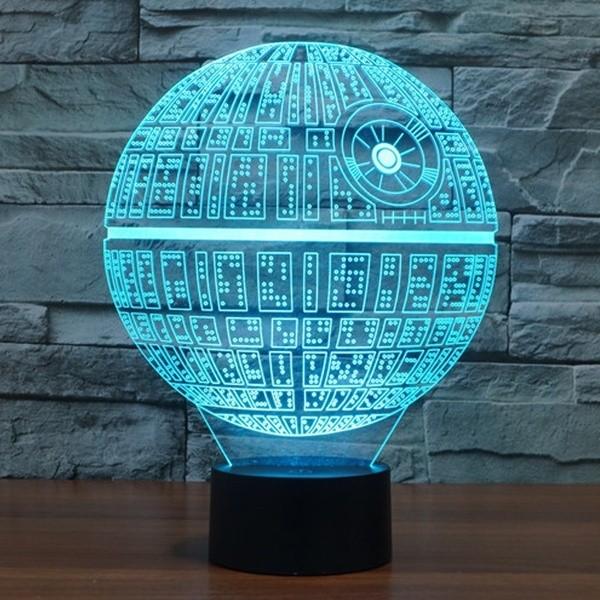 Death Star 3D Lamp