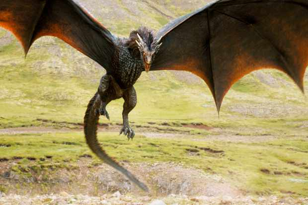 Game of Thrones' dragon
