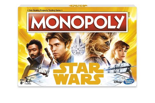 Star Wars Solo Monopoly