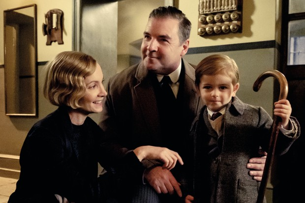 Joanne Froggatt stars as Anna Bates and Brendan Coyle as John Bates in DOWNTON ABBEY,