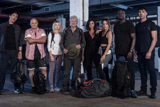Celebrity Hunted 3 - Fugitive Specials: Jean Christophe Novelli, Aldo Zilli, Georgia Toffolo, Stanley Johnson, Lucy Mecklenburgh, Lydia Bright, Martin Offiah and Gavin Henson.