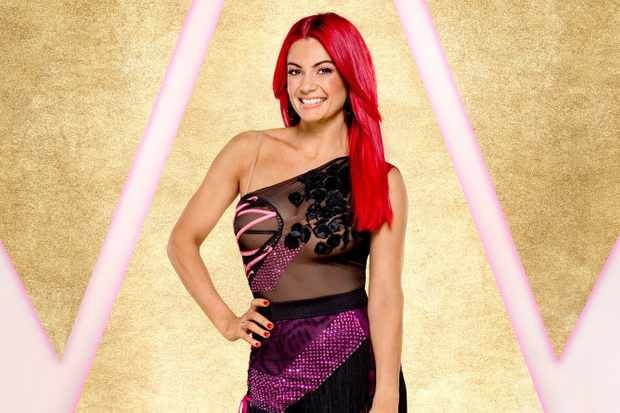 Dianne Buswell Strictly (BBC)