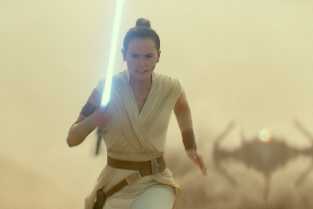 Rey (Daisy Ridley) in STAR WARS:  THE RISE OF SKYWALKER