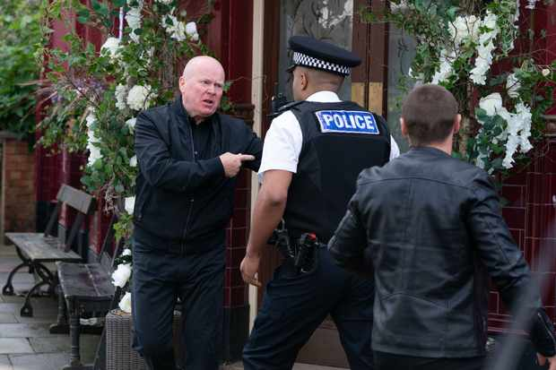 eastenders phil siege aftermath