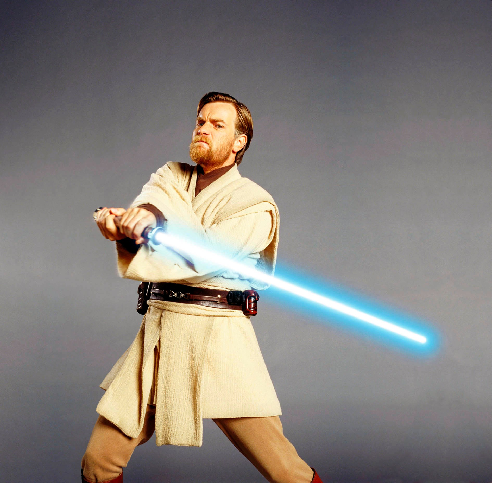 Star Wars Episode III - Revenge Of The Sith starring Ewan McGregor as Obi-Wan Kenobi