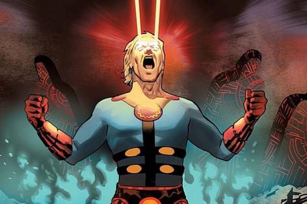 The comic-book version of Ikaris (Marvel)