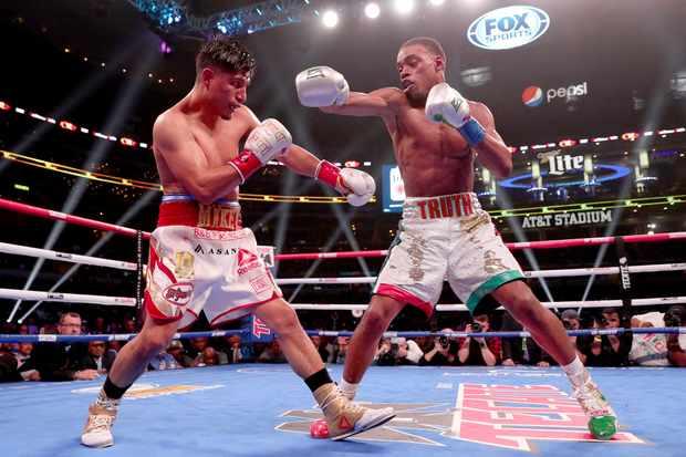 Boxing on TV Spence v Porter