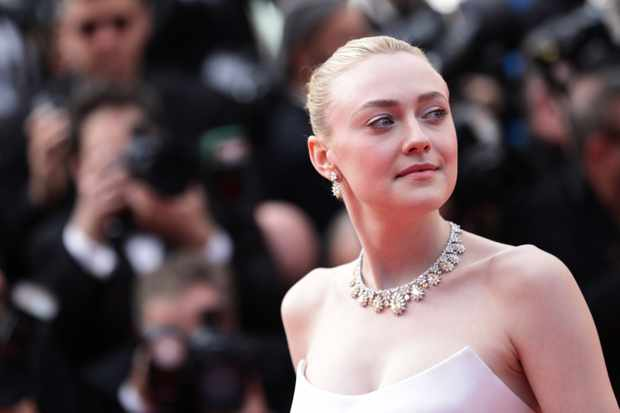 "CANNES, FRANCE - MAY 21: Dakota Fanning attends the screening of ""Once Upon A Time In Hollywood"" during the 72nd annual Cannes Film Festival on May 21, 2019 in Cannes, France. (Photo by Vittorio Zunino Celotto/Getty Images)"