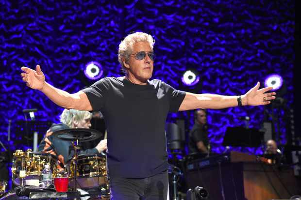 WANTAGH, NEW YORK - SEPTEMBER 15:   Roger Daltrey of The Who performs onstage at Northwell Health at Jones Beach Theater on September 15, 2019 in Wantagh, New York. (Photo by Kevin Mazur/Getty Images)