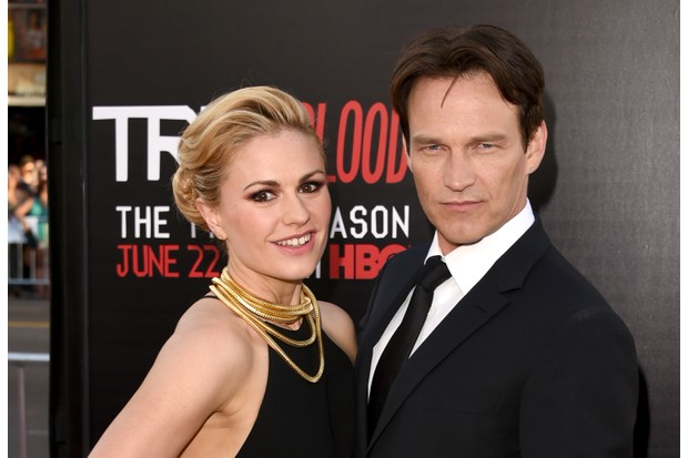 Anna Paquin and Stephen Moyer (Getty Images)