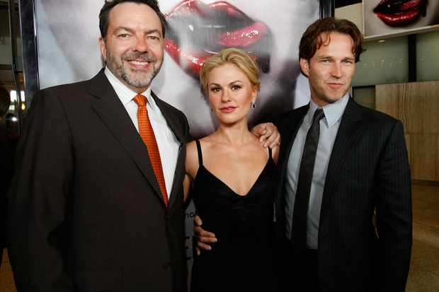 Alan Ball, Anna Paquin and Stephen Moyer (Getty Images)