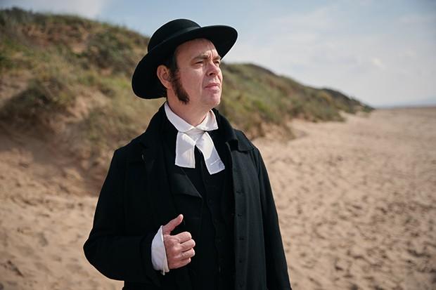 Kevin Eldon plays Mr Hankins in Sanditon