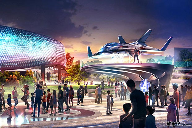 Disneyland Paris Unveils Avengers Campus And Marvel Hotel Radio Times