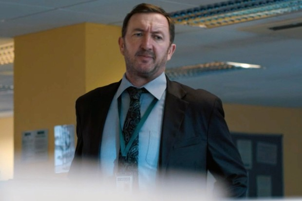 Ralph Ineson plays DCI Alec Boyd in The Capture
