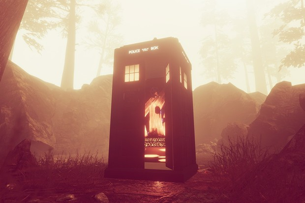 A still from Doctor Who: The Edge of Time