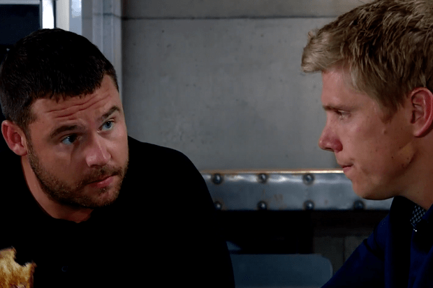 emmerdale robert sugden aaron dingle