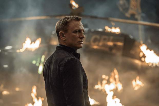 James Bond (Daniel Craig) in Spectre