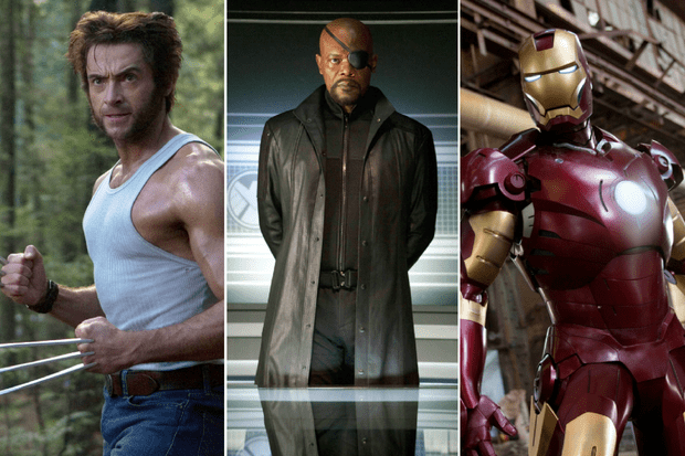 iron man wolverine nick fury