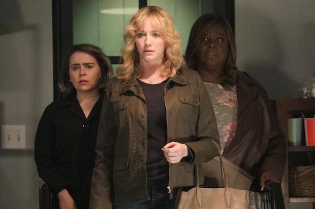 Christina Hendricks, Rette and Mae Whitman in Good Girls