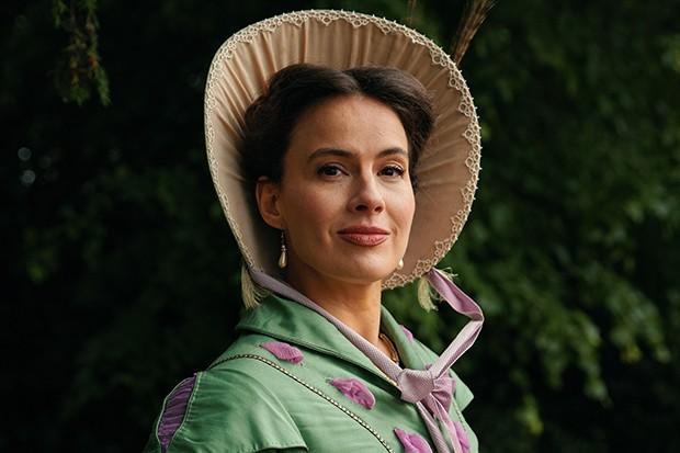 Sophie Winkleman plays Lady Susan in Sanditon
