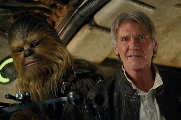 Star Wars: The Force Awakens - Chewbacca and Han Solo
