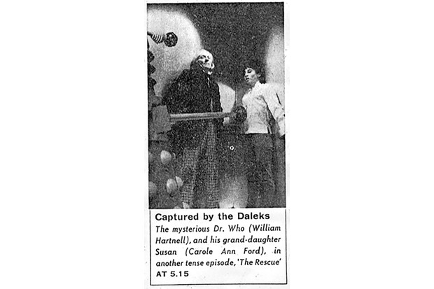 The Daleks first pic