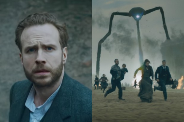Rafe Spall in BBC1's War of the Worlds
