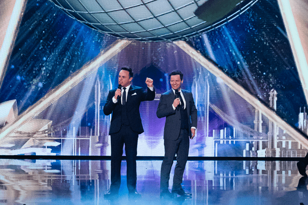 BGT the Champions ant and dec (ITV)
