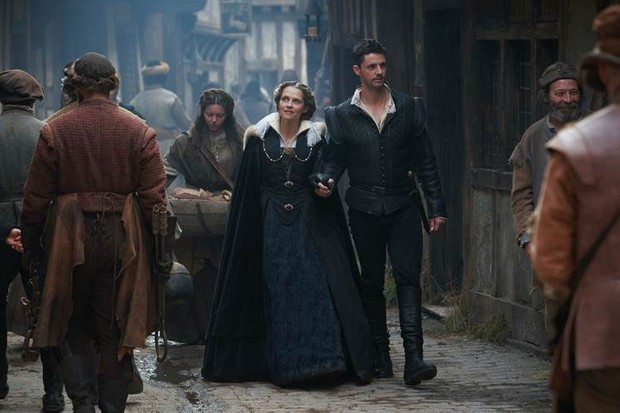 A Discovery of Witches season two first image (Matthew Goode and Teresa Palmer)