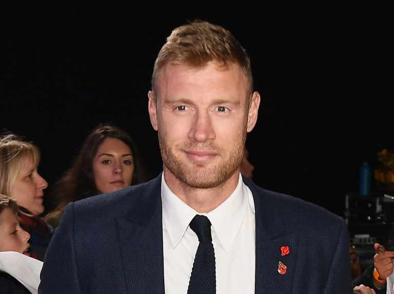 Freddie Flintoff escapes injury on same race track that left Hammond in a coma