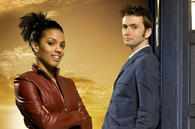 Doctor Who - the tenth Doctor and Martha