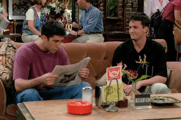 Friends - reserved couch