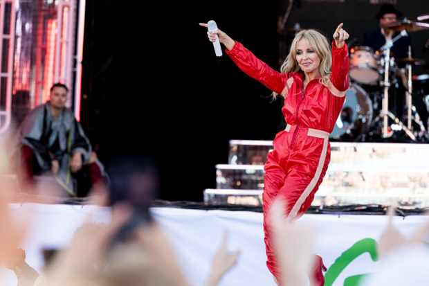 Kylie Minogue at Glastonbury Festival 2019