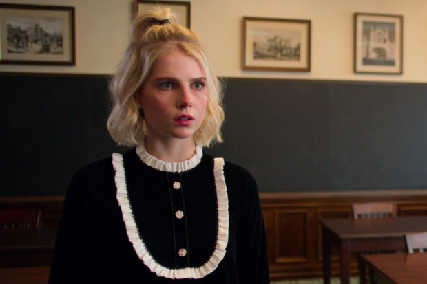 Lucy Boynton plays Astrid