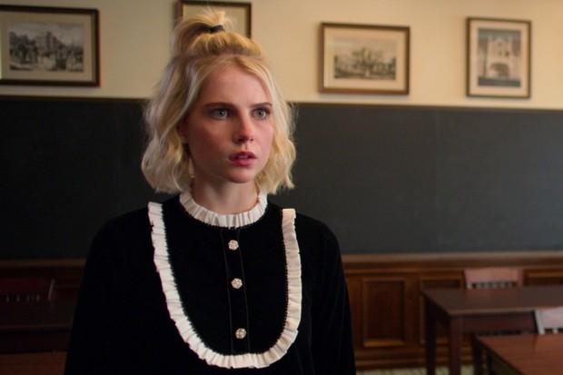 Lucy Boynton plays Astrid