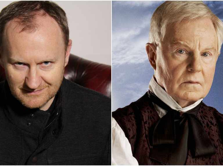 Doctor Who's Mark Gatiss and Derek Jacobi will face off in a two Masters story for Big Finish