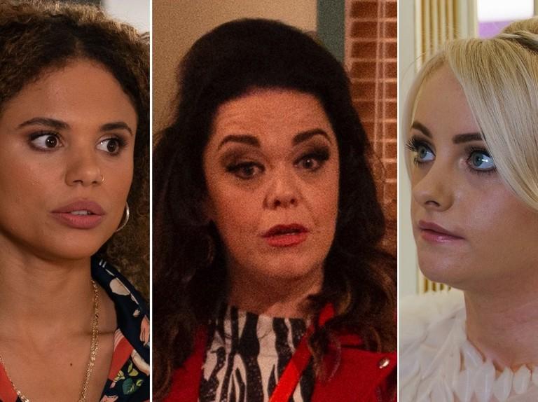 Next week in soapland: EastEnders terror for Chantelle, Emmerdale's Mandy returns, Sinead's tragic Coronation Street news