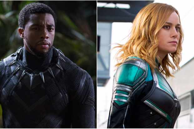 Black Panther / Captain Marvel