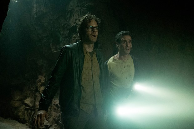 Bill Hader and James Ransome in IT Chapter Two (WB)