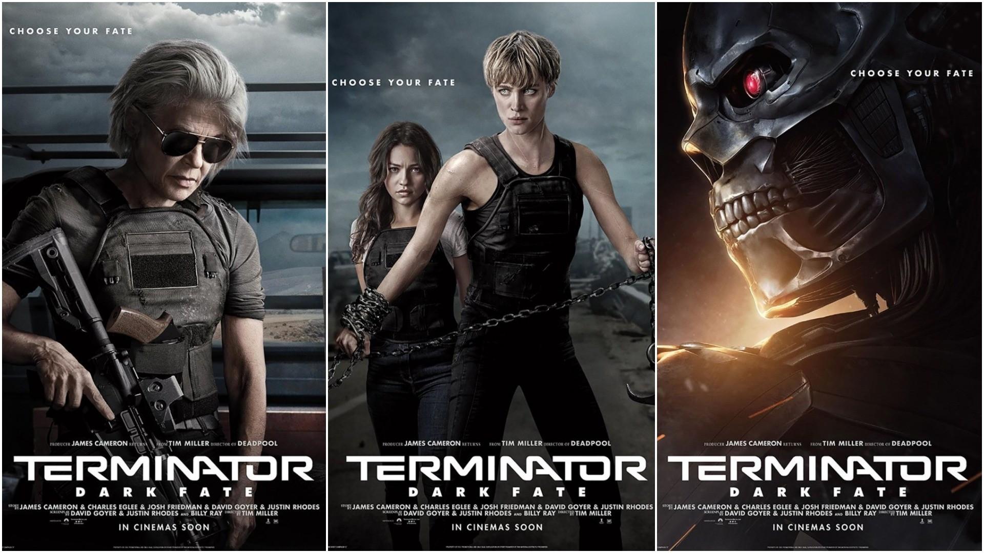 Terminator: Dark Fate posters
