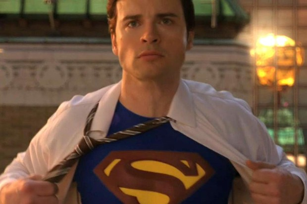 Tom Welling in the Smallville finale