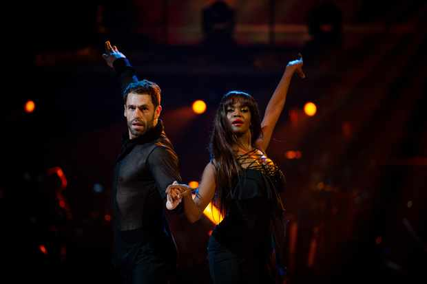 Strictly, Kelvin and Oti (BBC)